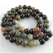 Tourmaline B irregular round gemstone beads (N) Approximately 6mm to 7mm 14 inch
