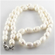 Pearls fashion designer baroque barrel with base metal clasp Super Sale (D) Approximate size 7x 8mm to 8 x 10mm 18 inch