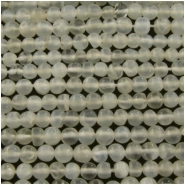 Moonstone round gemstone beads (N) Approximately 3.5mm  15 inch No flash