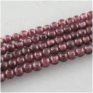 Garnet tiny round gemstone beads (N) Approximate size 1.6mm 15 inch