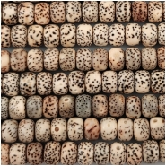 Bodhi Lotus Seed Thick Wheel Beads Mix Color (N) Approximate size 5 x 7mm 22 inches