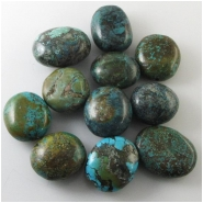 11 Turquoise Hubei rustic nugget pendant gemstone beads (S) Approximate size 26 x 30mm to 30 x 38mm 12 to 22mm thick