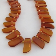 Amber Baltic petal top side drilled briolette gemstone beads (N) Approximate size 5 x 9mm to 6 x 12mm 16 inch