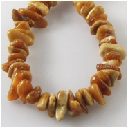 Amber Baltic butterscotch chip nugget gemstone beads (N) Approximate size 4 x 7mm to at least 6 x 11mm 16 inch